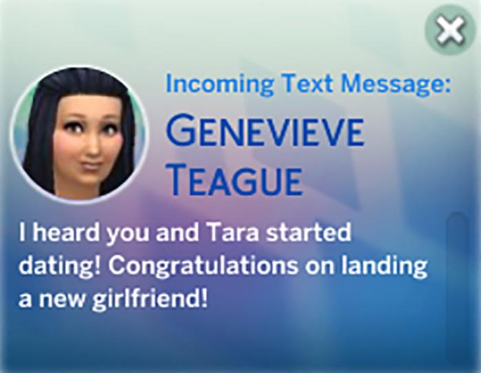 Genevieve Sent Me a Text