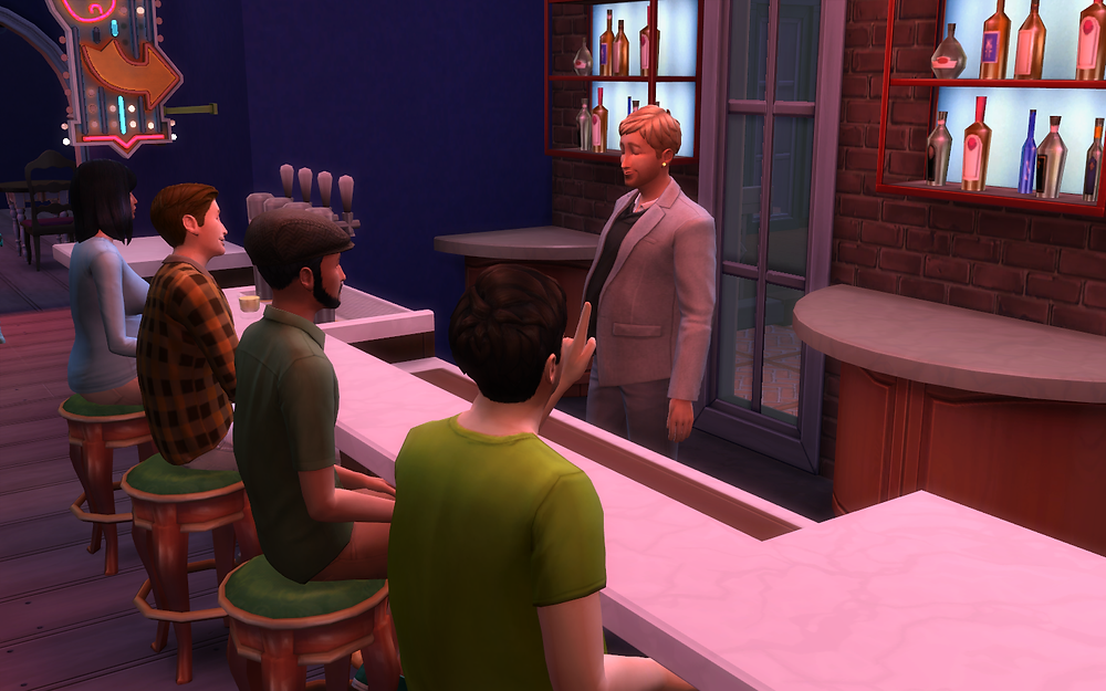 Ordering a Drink