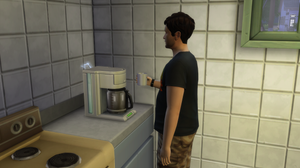 Made Coffee and the Machine Broke