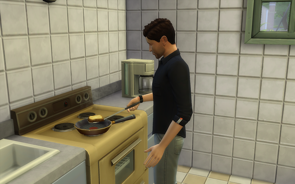 Cooking Some Grilled Cheese Sandwiches
