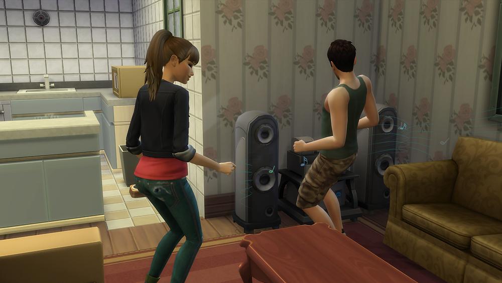 Me and Tara dancing