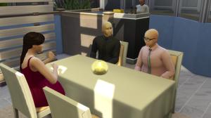 Darren, Elaine, and Colton