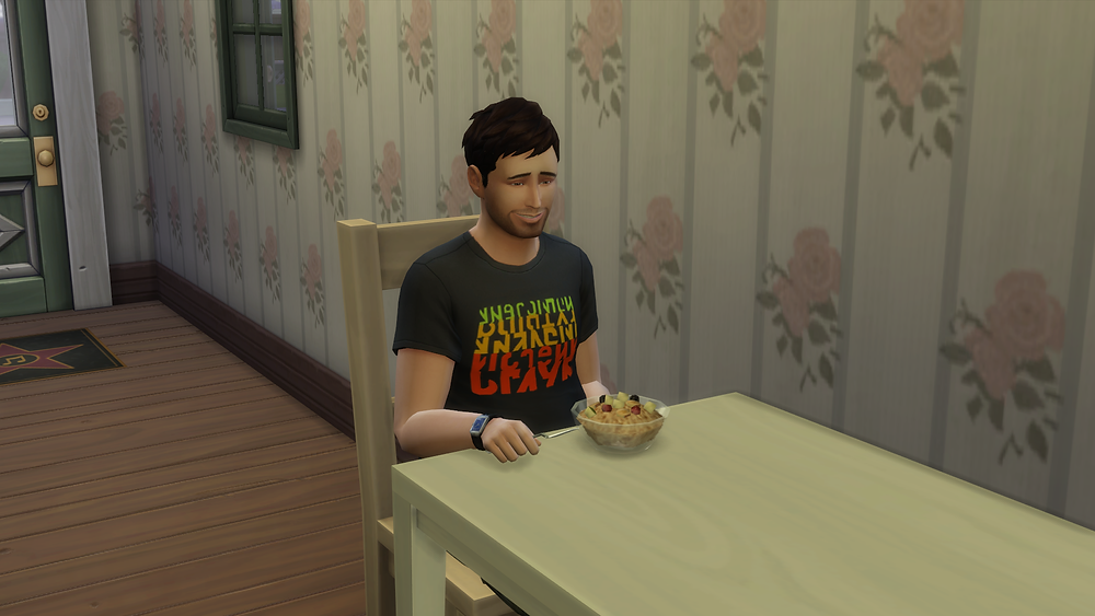 Eating Oatmeal