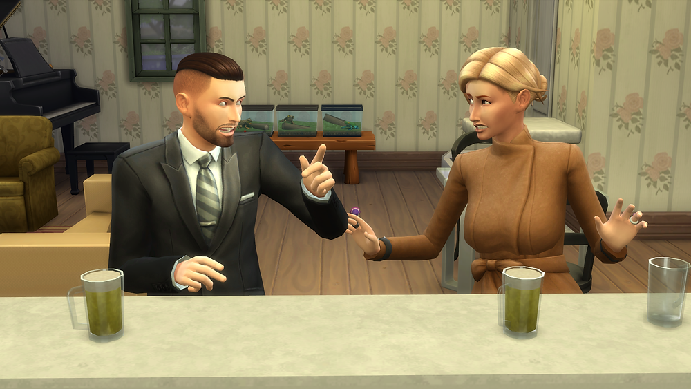 Me and Suraya arguing