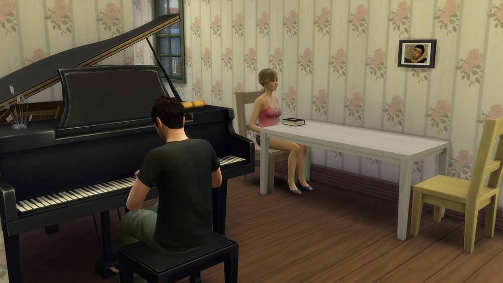 Playing the Piano for Tara