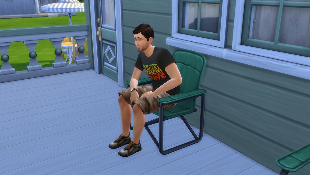 Sitting Outside