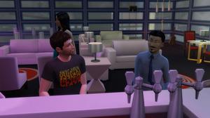 Talking with Felipe