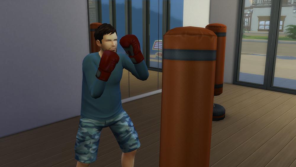 Using the Punching Bag