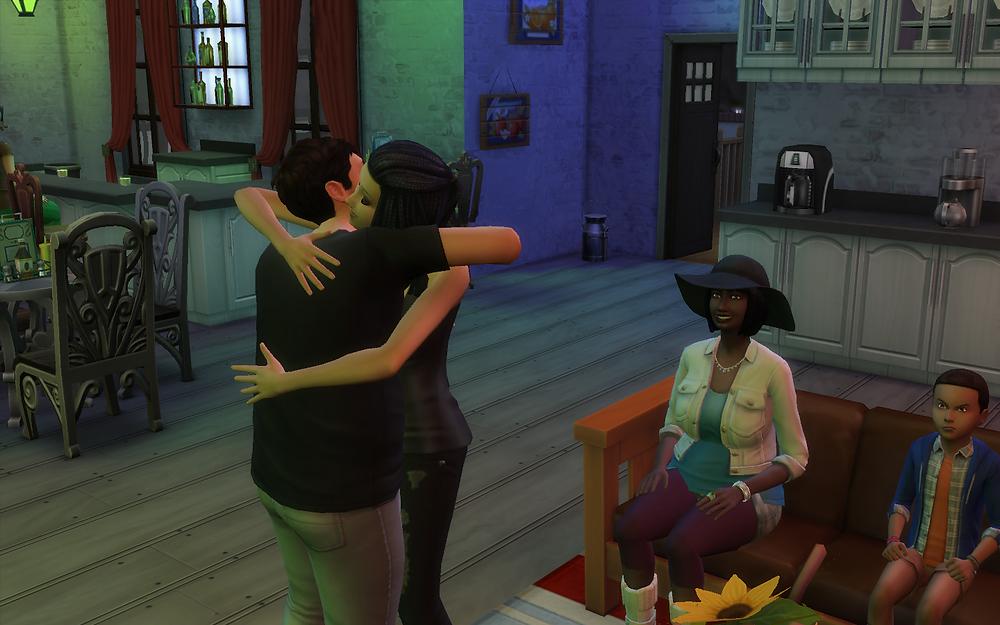 Hugging Genevieve