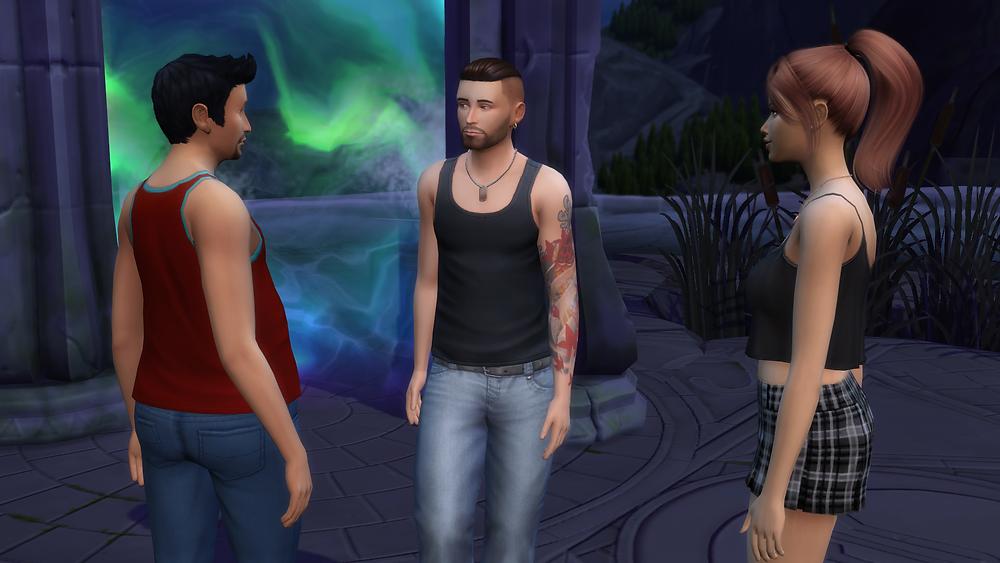 Me, Tara, and Stephon