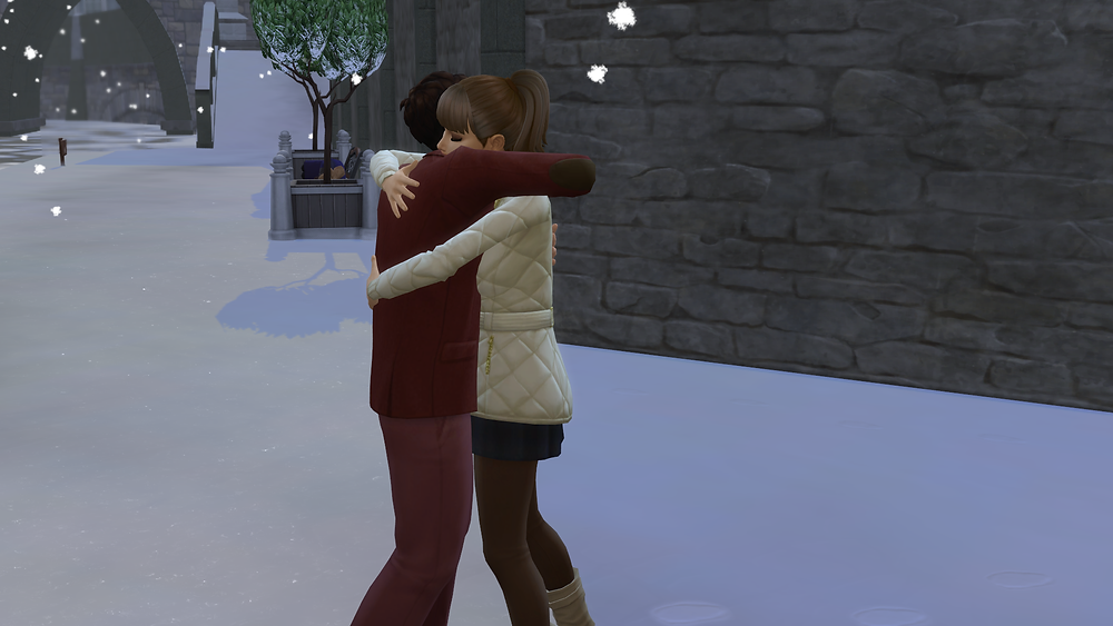 Me and Tara hugging