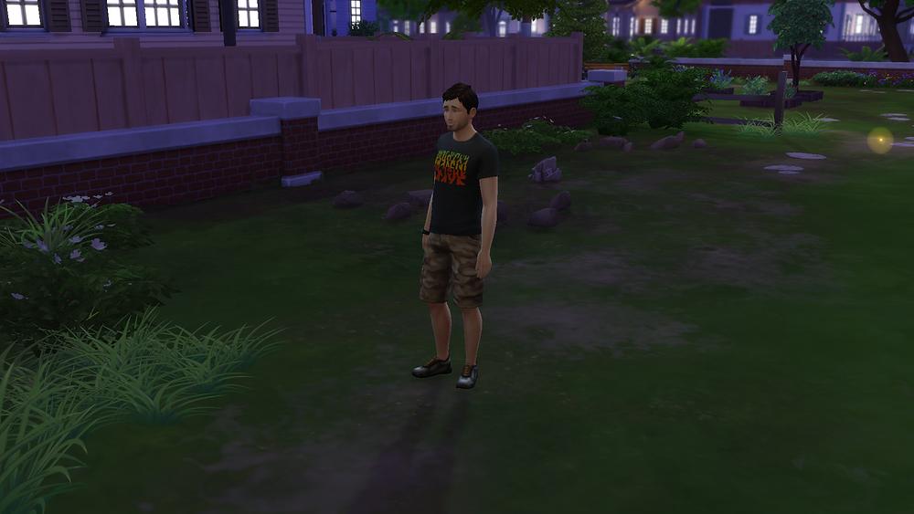 Standing in Somebody's Backyard