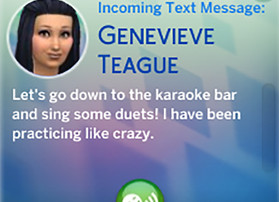 Genevieve Wants Me and Tara to Go to the Karaoke Bar with Her
