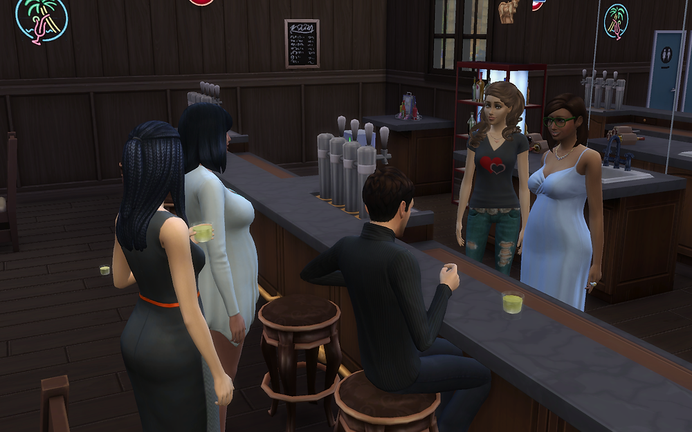 Genevieve Coming to the Bar