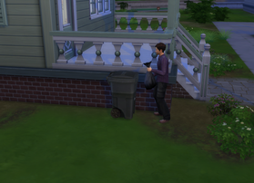 Somebody Kicked Over My Garbage Can...