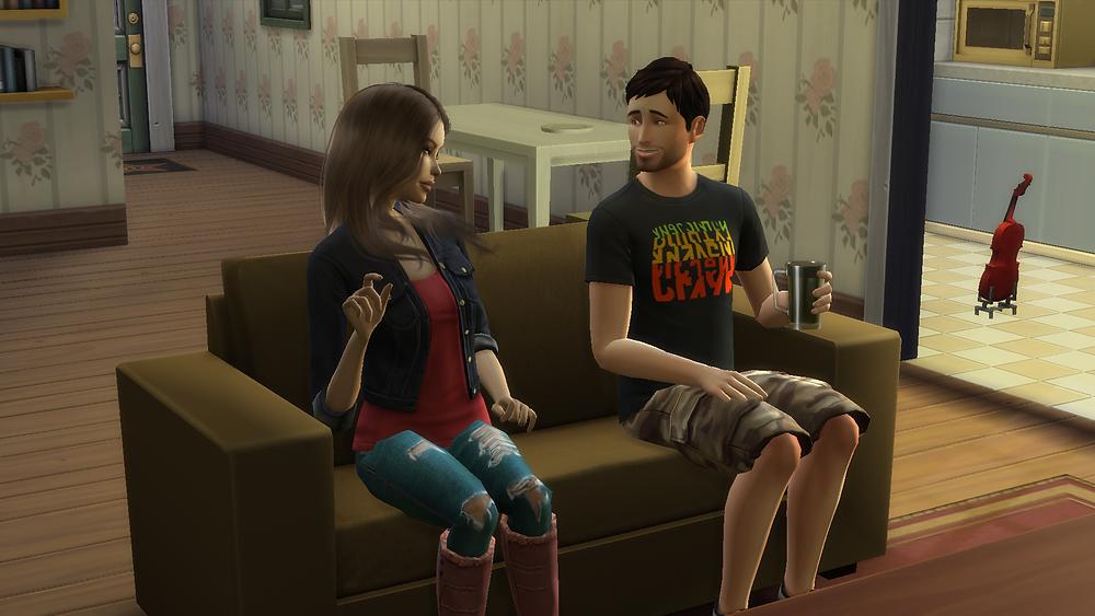 Flirting with Tara