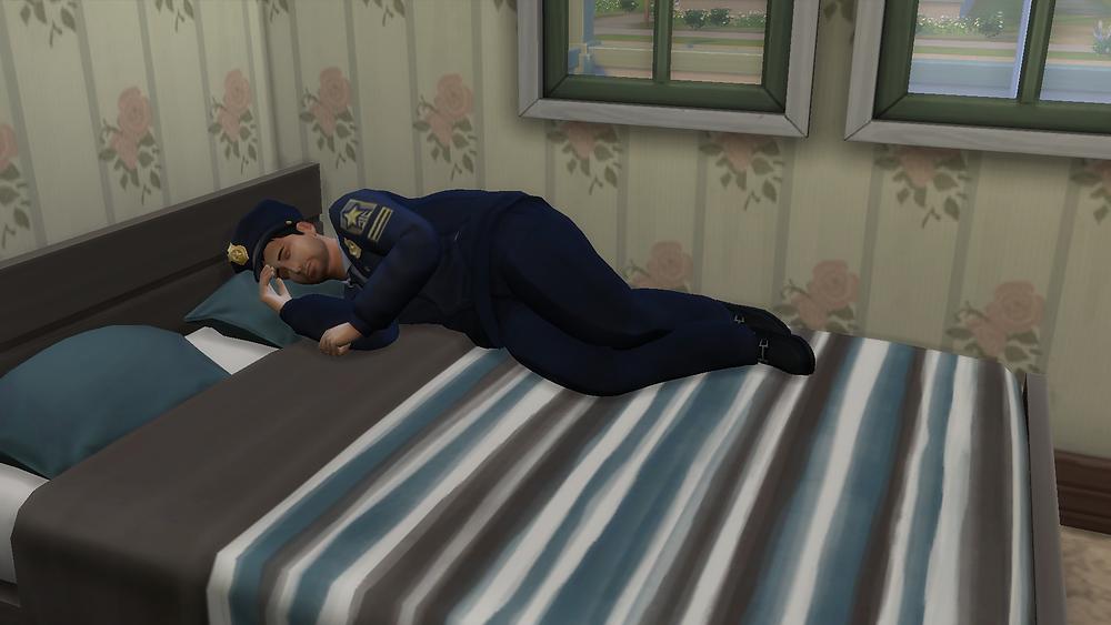 Me Sleeping