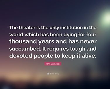 4872273-John-Steinbeck-Quote-The-theater