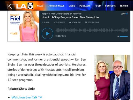 How A 12-Step Program Saved Ben Stein's Life | Keepin' It Friel