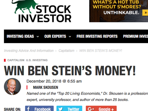 WIN BEN STEIN'S MONEY!