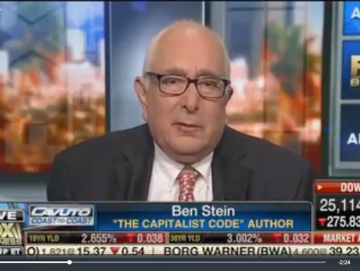 Someone Had To Say It: Ben Stein On AOC's Green Deal