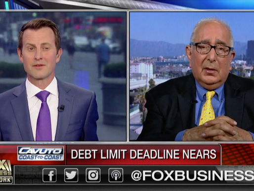 Ben Stein on mounting government debt: We are going to have to raise taxes
