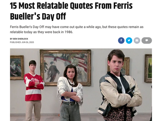A Look Back at the Best Quotes from John Hughes Classic