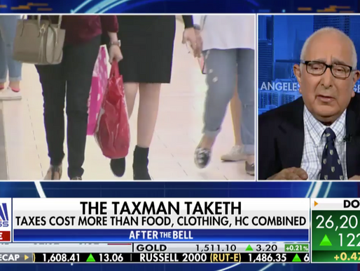 Ben Stein: We will soon see taxes go 'up, up, up'