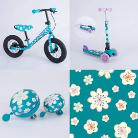 Kiddimoto - Flora design
