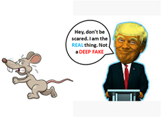 Fighting Deep Fakes - Experiment are ongoing using Rats to Identify Deep Fakes