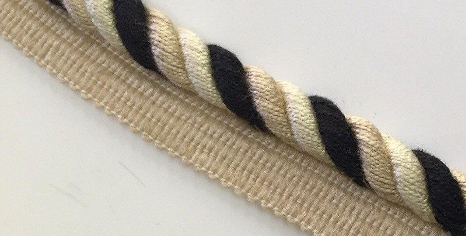 Black - Cream - Taupe - Lip Cord - Lip Cord