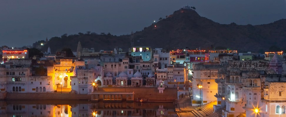 Pushkar evening