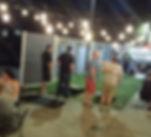 Jo's patio is hoppin' tonight!__#pdxfun#