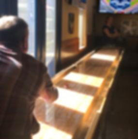 Shuffleboard in Milwaukie. Bar with pool in Milwaukie. Shuffleboard SE Portland