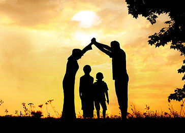 Muslim family home together.jpg