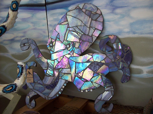 Purple Mosaic Octopus