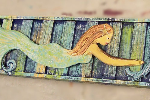 Mermaid Cornice Board