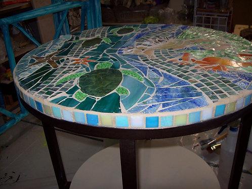 Mosaic Sealife table
