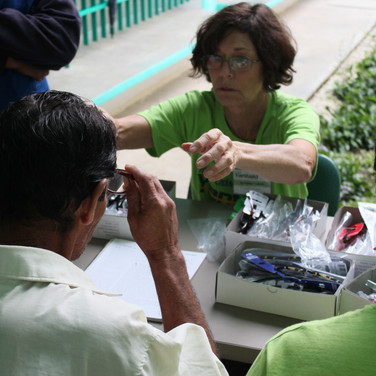 Fitting patients for reading glasses