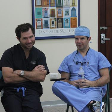 A little break in between surgeries