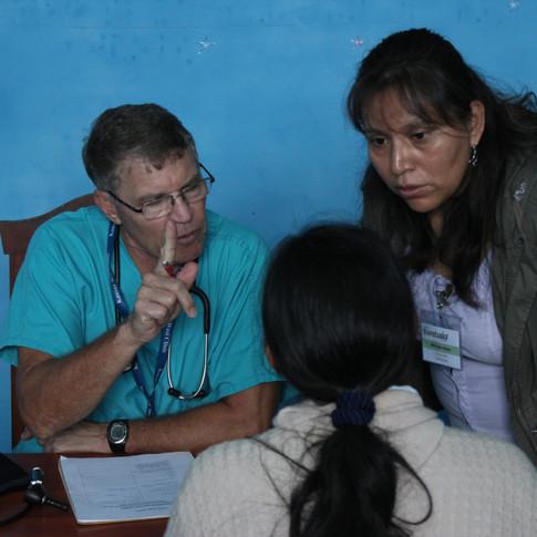Seeing patients