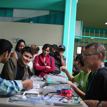 Providing over 750 pairs of reading glasses