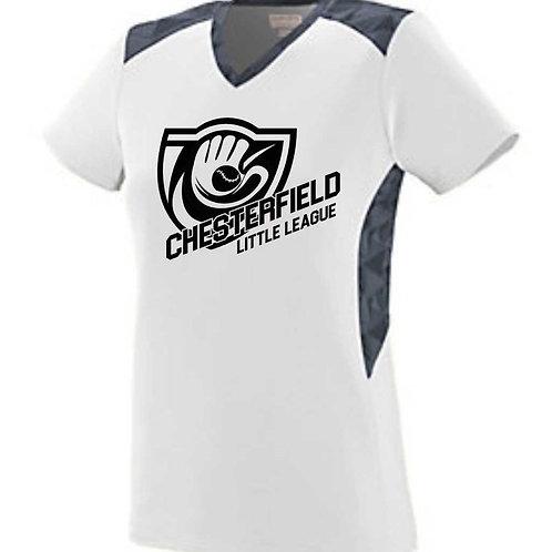 CLL Softball Jersey-White