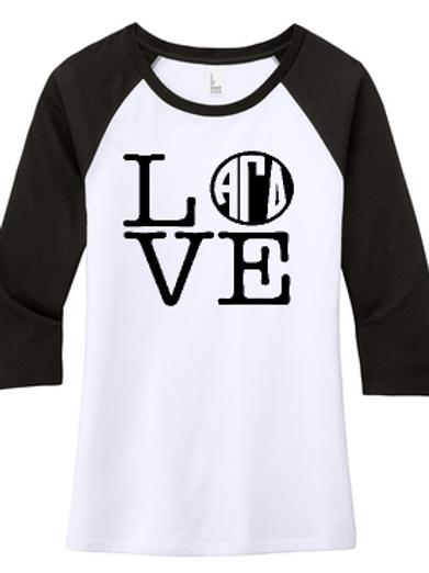Longwood AGD Raglan T-Shirts