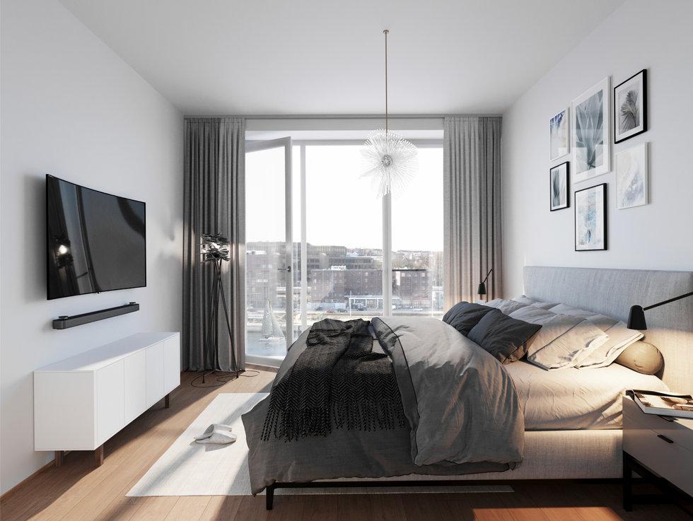 baufeld XII,  schlafzimmer, kiel hörn - hs architekten, ngeg