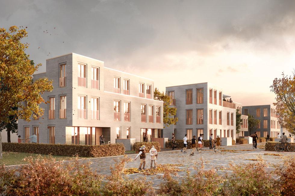 wohnbebauung, osnabrück - asp architekten