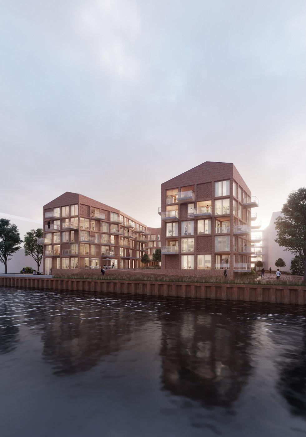 stadthafen, oldenburg  -  neun grad architekten, kubus immobilien