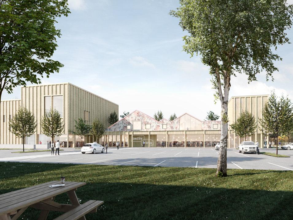 stadteilzentrum osternburg, oldenburg - neun grad architekten