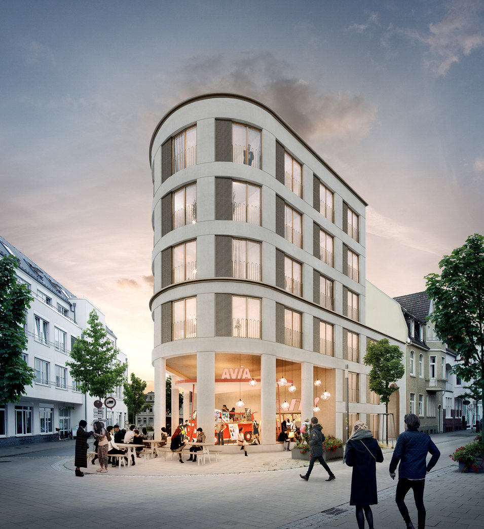 wohngebäude kaiserserstraße, oldenburg - neun grad architekten, capital real