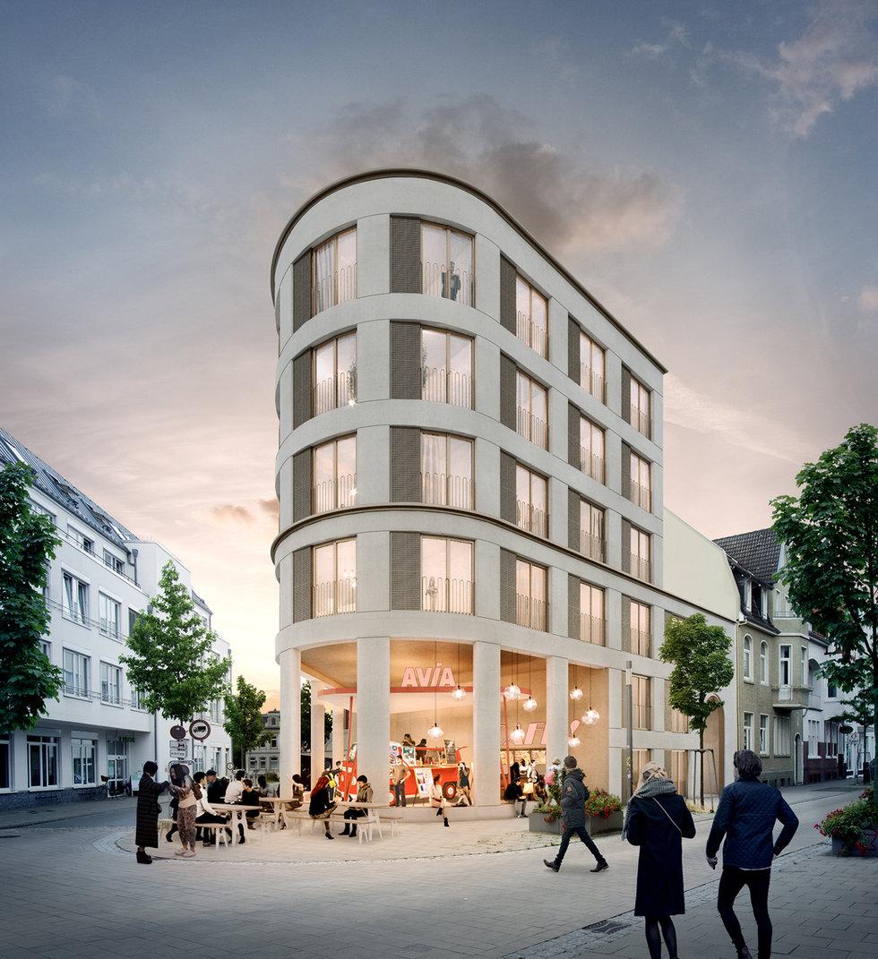 wohngebäude kaiserstraße, oldenburg - neun grad architekten, capital real